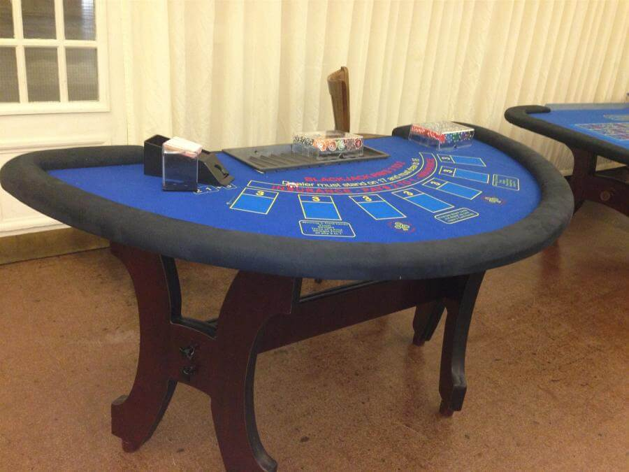 Casino table hire for weddings Somerset